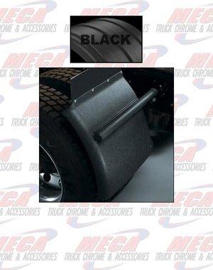SIDE QTR FENDER 1/4 POLY PLASTIC BLACK SET OF 2 MINIMIZER