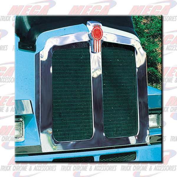 FRONT GRILL SURROUND TRIM KW T600 EXTRA WIDE SS 1995+