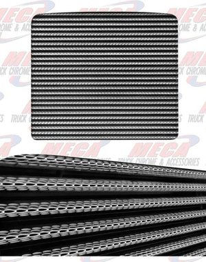 FRONT GRILL PB EXT HORIZONTAL BARS W/ PYTHON STYLE HOLES