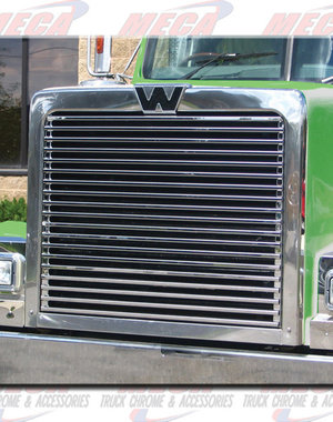 FRONT GRILL KIT WESTERN STAR HORIZONTAL BARS 4900EX 95+