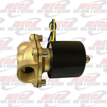 "TRAIN AIR HORN AIR/ELECTRIC BYPASS SOLENOID VALVE HEAVY DUTY 3/4"" 2W-160-15"