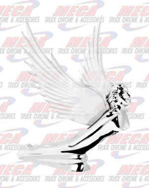 FRONT HOOD ORNAMENT GODDESS FLYING CLEAR WINGS