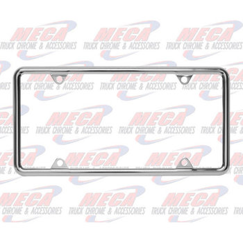 LICENSE PLATE FRAME THIN STYLE ECO.