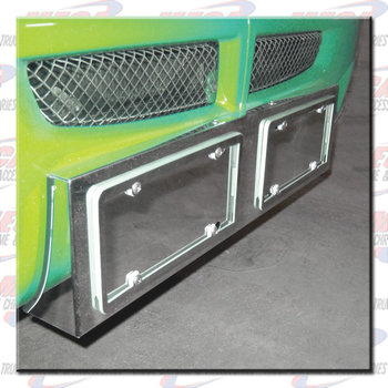 LICENCE PLATE HOLDER KW T660 DOUBLE TAG