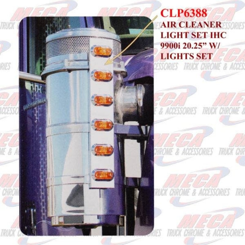 """AIR CLEANER LIGHT SET IHC 9900i 20.25"""" W/LGTS SET"""