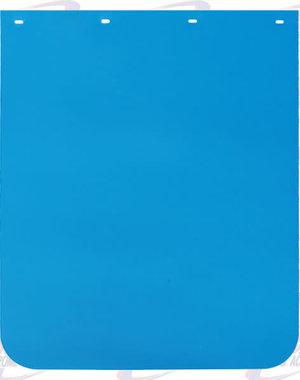 REAR MUDFLAP PLASTIC BLUE LIGHT EACH