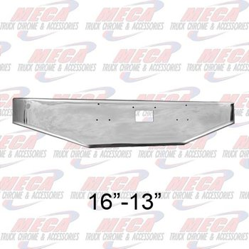 VALLEY CHROME BUMPER PB 379 16'' TAPERED W/ TOW ONLY