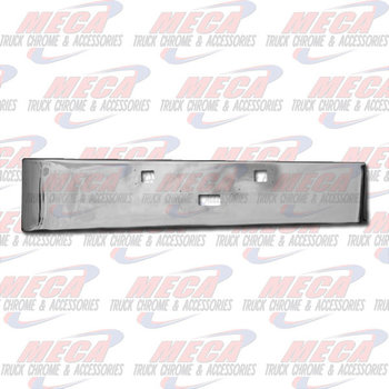 VALLEY CHROME BUMPER KW W900L ROLLED END 12''  TOW & STEP