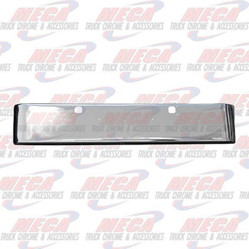 VALLEY CHROME BUMPER KW W900L 18'' TEXAS TOW, NO STEP