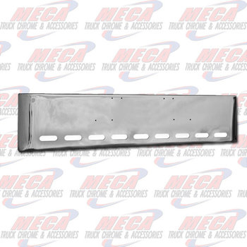 VALLEY CHROME BUMPER FL CLASSIC 20'' 1984-1999 TEXAS, 9 OVAL HLS