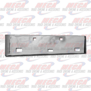 VALLEY CHROME BUMPER KW W900L 18'' TOW, FOG & STEP HLS