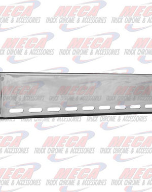 FRONT BUMPER UNIV 22'' ROLLED W/ 9 OVAL LT HOLES BLIND MO
