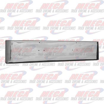 VALLEY CHROME BUMPER PB 379 18'' MOUNTIN HOLES ONLY