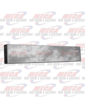 FRONT BUMPER UNIV 18'' BOXED END PLAIN BLIND MOUNT