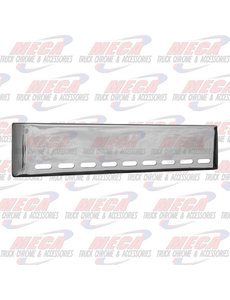 FRONT BUMPER UNIV 20'' ROLLED W/ 9 OVAL LT HOLES BLIND MO