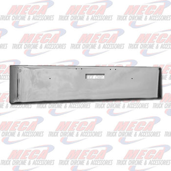 VALLEY CHROME BUMPER FL DAYCAB 18'' 2004-2007 TEXAS, STEP ONLY