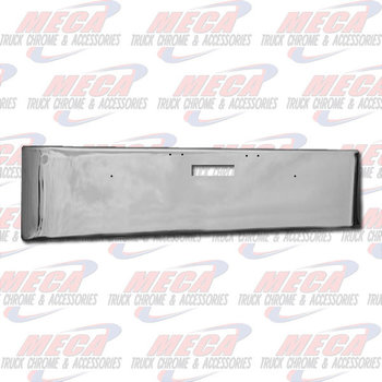 VALLEY CHROME BUMPER FL DAYCAB 20'' 2004-2007 TEXAS, STEP ONLY