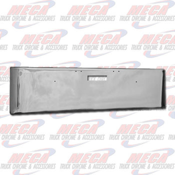 VALLEY CHROME BUMPER FL DAYCAB 22'' 2004-2007 TEXAS, STEP ONLY