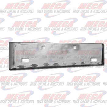 VALLEY CHROME BUMPER KW W900L 18'' S/S W/ TOW, FOG & 9 BB LIGHTS