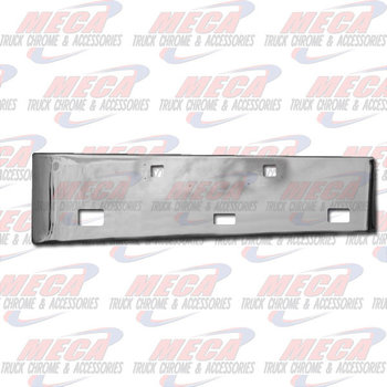 VALLEY CHROME BUMPER KW W900L 20'' TOW STEP FOG HOLES