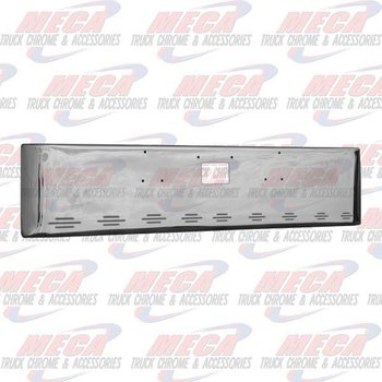 VALLEY CHROME BUMPER PB 379 20'' WITH TOW & 9 BB LIGHTS