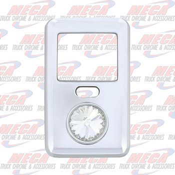 ROCKER SW COVER LARGE CLEAR VOLVO VN & VT