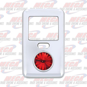 ROCKER SW COVER LARGE RED VOLVO VN & VT