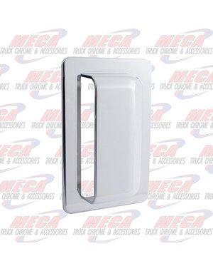 SIDE AIR INTAKE SCOOP CHROME COVER PLASTIC IHC
