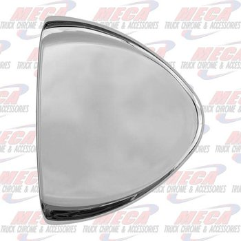 HEADLIGHT TURN SIGNAL END COVER PB CHROME PLASTIC