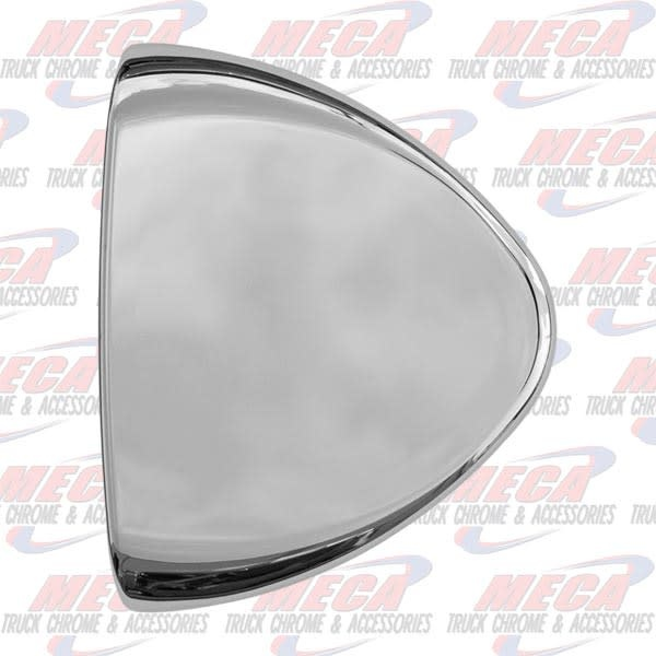 FRONT HEADLIGHT TURN SIGNAL END COVER PB CHROME PLASTIC