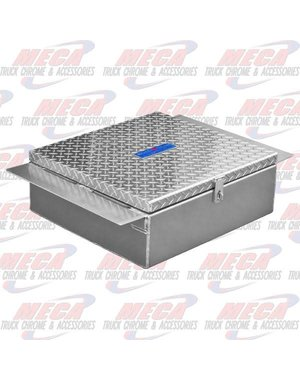 TOP TOOL BOX BETWEEN FRAME DIAMOND PLATED
