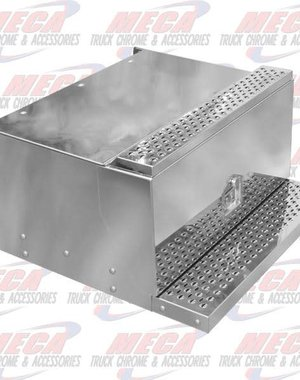 SIDE TOOL BOX PB POLISHED S/S -REPLACES OEM BOX-