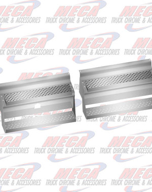 """SIDE KW BAT/TOOL BOX COVERS SS 39.5"""" 2005 & NEWER"""