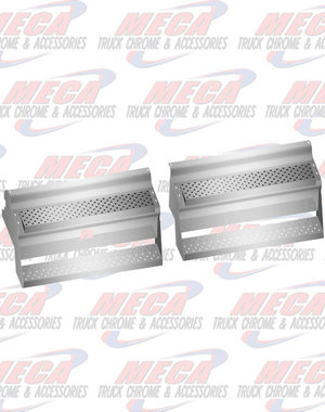 """SIDE KW BAT/TOOL BOX COVERS SS 45"""" 2005 & NEWER"""