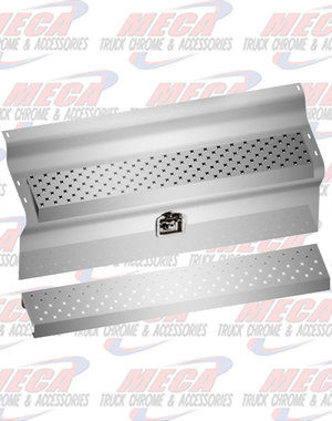 """SIDE KW BAT/TOOL BOX COVERS SS 45"""" 2004 & OLDER"""