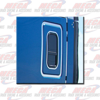 SLEEPER DOOR TRIM FL CASCADIA 2008+ (4 PC KIT)