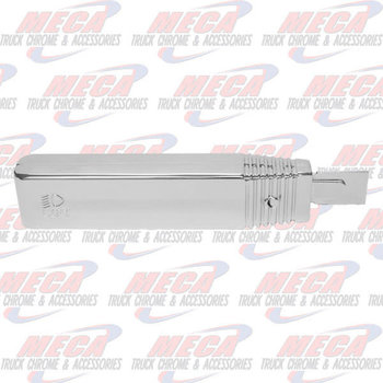TURN SIGNAL SWITCH HANDLE PLASTIC CHROME GROTE K-D