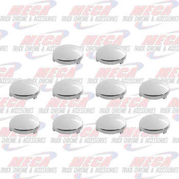 UPHOLSTERY BUTTON COVER FL CHROME