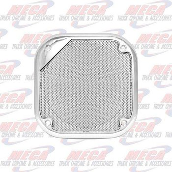 SPEAKER COVER GRILL CHROME KW FL