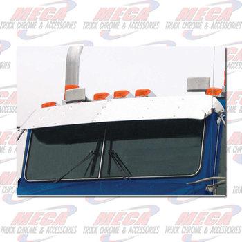 "VISOR KW W900L 2007+ FLAT GLASS 13"" BLANK"