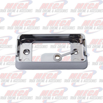 BRACKET CHROME RECT FOR SMALL DUALLY LT