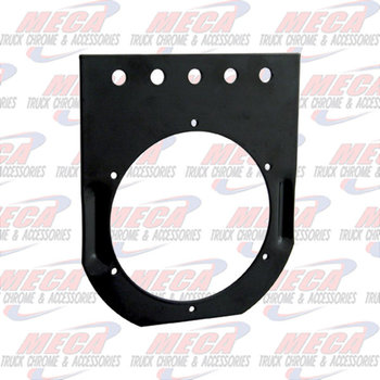 "LIGHT BRACKET BLACK 1- 4"" STRAIGHT"