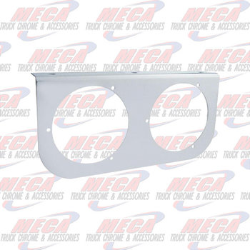 LIGHT BRACKET S/S 2- 4""