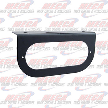 LIGHT BRACKET BLACK 1- OVAL