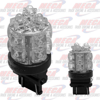 LED BULB 3157 360DE RED STOP/TAIL FUNCTION 13 LED