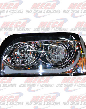 FRONT HEADLIGHT COMPLETE KIT FL CENTURY DRIVER SIDE AUDI STYLE