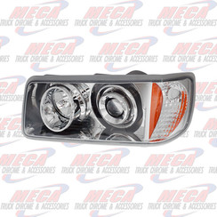HEADLIGHT ASSEMBLY FLD120 CHROME DRIVER SIDE **NO WARRANTY ON THIS LIGHT**