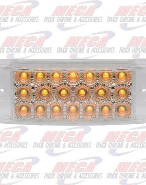 MARKER LIGHTS TRAILER LIGHT 20 LED'S CLEAR AMBER