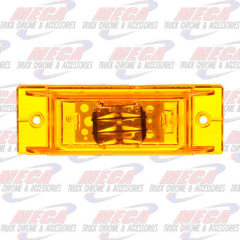 LED TLR MARKER PC RATED 3DIODE YELLOW