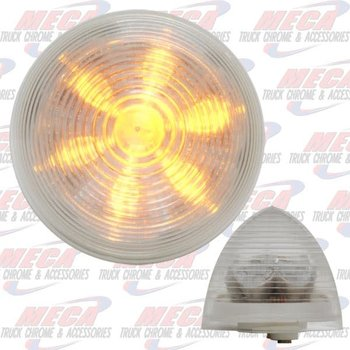 LGT BEEHIVE 2'' AMB CLEAR 9 DIODES
